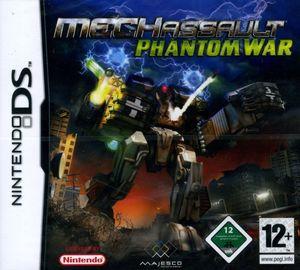 Cover for MechAssault: Phantom War.