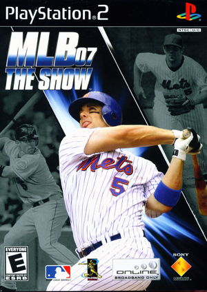Cover for MLB 07: The Show.