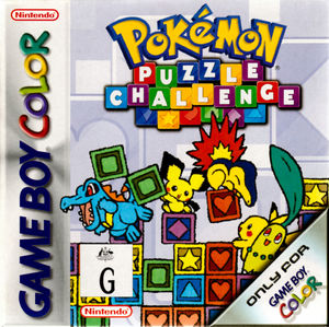 Cover for Pokémon Puzzle Challenge.
