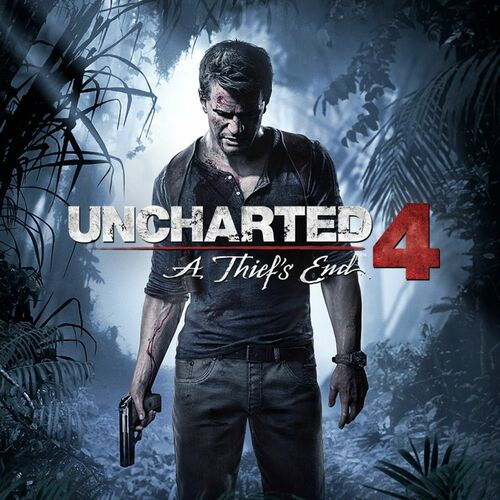Cover for Uncharted 4: A Thief's End.