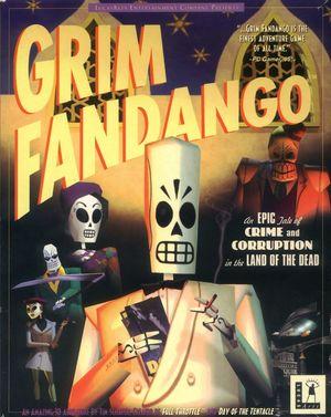 Cover for Grim Fandango.