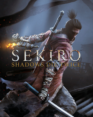 Cover for Sekiro: Shadows Die Twice.