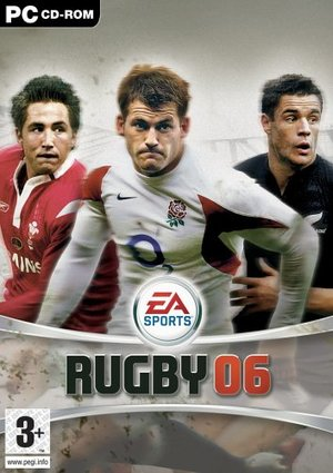 Cover for Rugby 06.