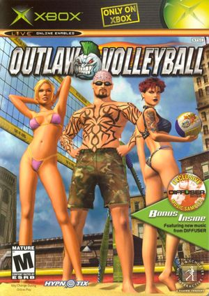 Cover for Outlaw Volleyball.