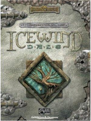Cover for Icewind Dale.