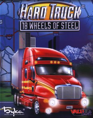 Cover for Hard Truck: 18 Wheels of Steel.