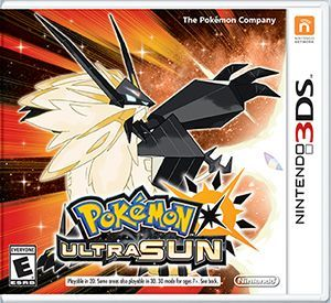 Cover for Pokémon Ultra Sun.