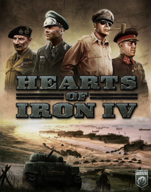 Cover for Hearts of Iron IV.