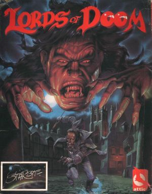 Cover for Lords of Doom.