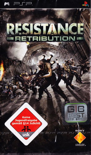 Cover for Resistance: Retribution.
