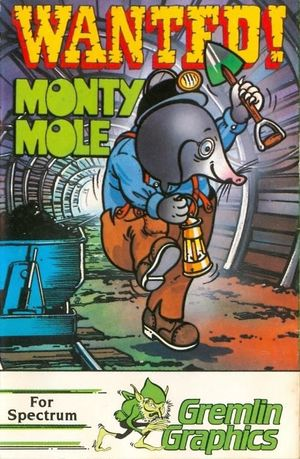 Cover for Wanted: Monty Mole.
