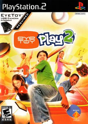 Cover for EyeToy: Play 2.