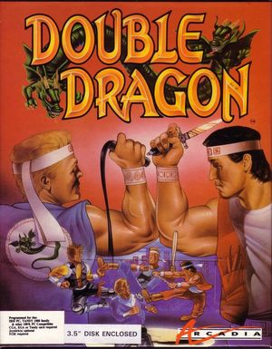 Cover for Double Dragon.