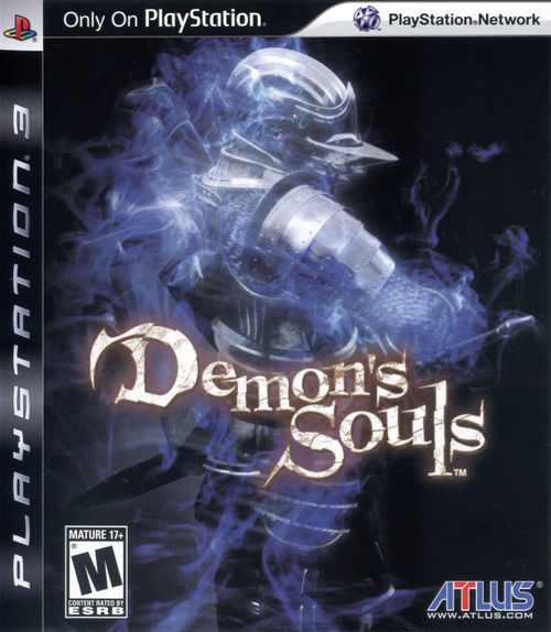 Cover for Demon's Souls.