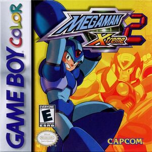Cover for Mega Man Xtreme 2.