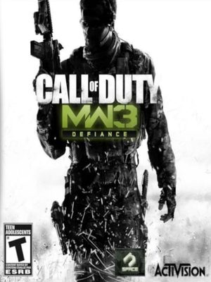Cover for Call of Duty: Modern Warfare 3: Defiance.