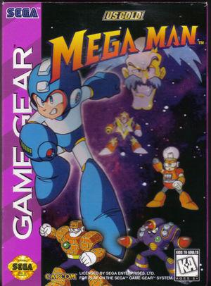 Cover for Mega Man.