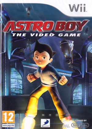 Cover for Astro Boy: The Video Game.