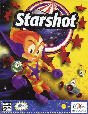 Cover for Starshot: Space Circus Fever.