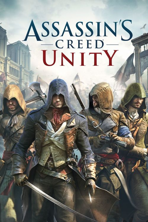 Cover for Assassin's Creed Unity.