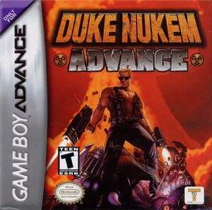 Cover for Duke Nukem Advance.