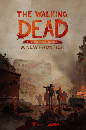 Cover for The Walking Dead: A New Frontier.