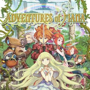 Cover for Adventures of Mana.