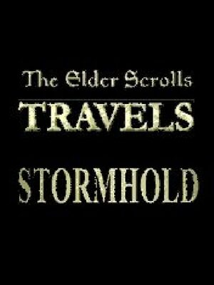 Cover for The Elder Scrolls Travels: Stormhold.
