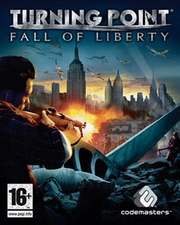 Cover for Turning Point: Fall of Liberty.