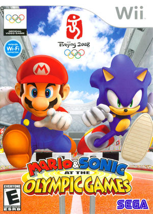 Cover for Mario & Sonic at the Olympic Games.