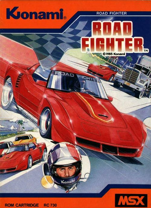 Cover for Road Fighter.