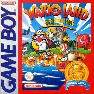 Cover for Wario Land: Super Mario Land 3.