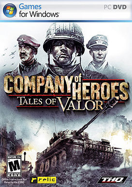 Cover for Company of Heroes: Tales of Valor.