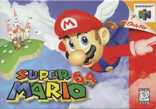 Cover for Super Mario 64.