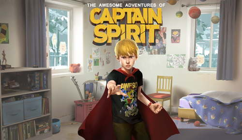 Cover for The Awesome Adventures of Captain Spirit.