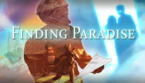 Cover for Finding Paradise.