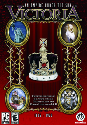 Cover for Victoria: An Empire Under the Sun.