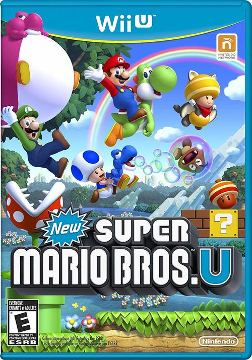 Cover for New Super Mario Bros. U.