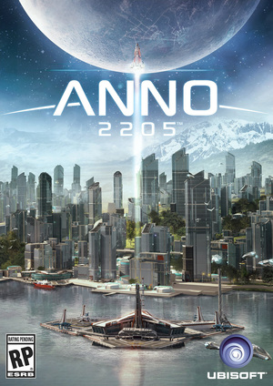 Cover for Anno 2205.