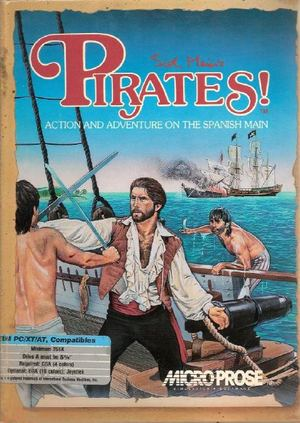 Cover for Sid Meier's Pirates!.