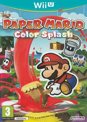 Cover for Paper Mario: Color Splash.