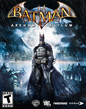 Cover for Batman: Arkham Asylum.