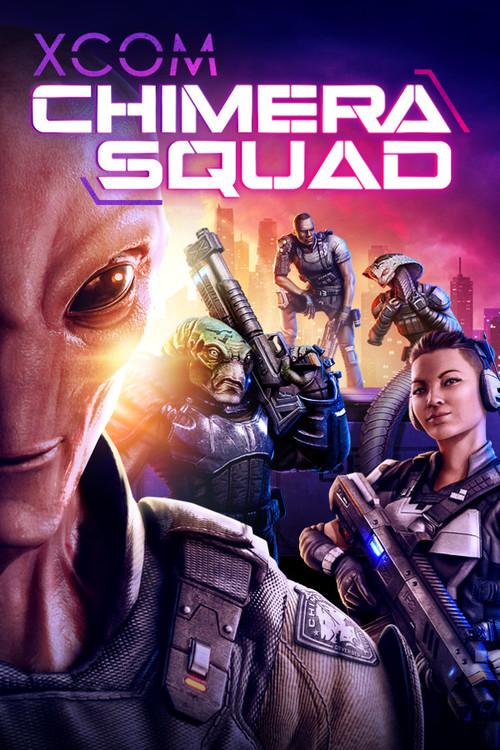 Cover for XCOM: Chimera Squad.