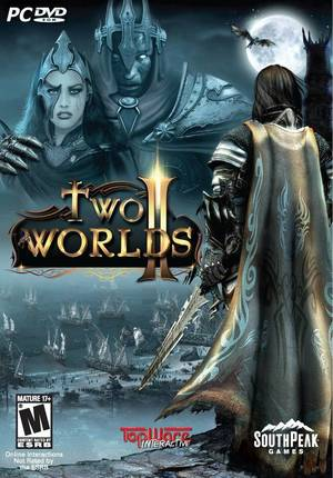 Cover for Two Worlds II.
