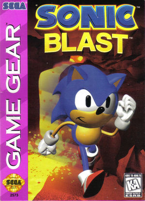 Cover for Sonic Blast.