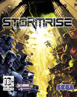 Cover for Stormrise.
