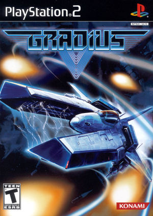 Cover for Gradius V.