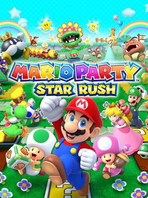 Cover for Mario Party: Star Rush.