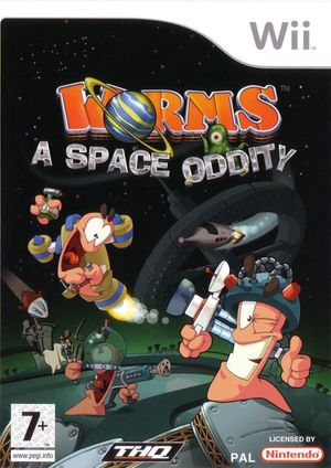 Cover for Worms: A Space Oddity.