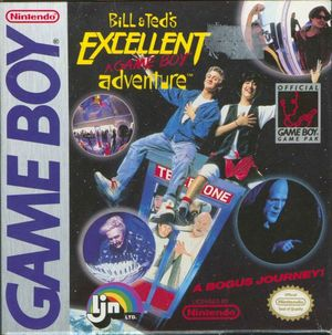 Cover for Bill & Ted's Excellent Game Boy Adventure: A Bogus Journey!.